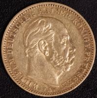 20 Mark Wilhelm I 1872 A ss