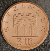 Kitzingen 3 Mark 1921