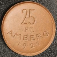 Amberg 25 Pfennig 1921