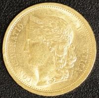 20 Fr. Helvetia 1886