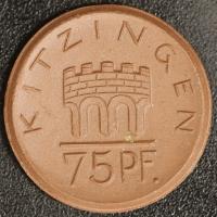 Kitzingen 75 Pfennig 1921