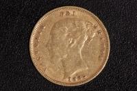 1/2 Sovereign Victoria 1885