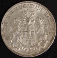 5 Mark Hamburg 1913 ss