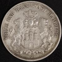 5 Mark Hamburg 1893 ss
