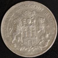 5 Mark Hamburg 1894 ss