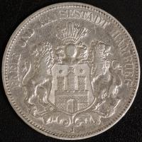 5 Mark Hamburg 1902 ss
