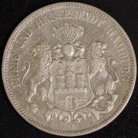 5 Mark Hamburg 1895 ss