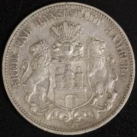 5 Mark Hamburg 1901 ss
