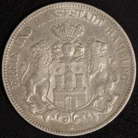 5 Mark Hamburg 1904 ss