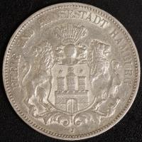 5 Mark Hamburg 1907 ss