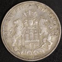 5 Mark Hamburg 1908 ss