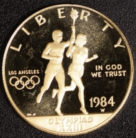10 $ Olympische Spiele 1984 PP