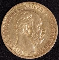 20 Mark Wilhelm I 1873 A ss