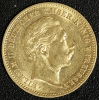 10 Mark Wilhelm II 1904