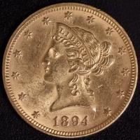 10 $ Liberty 1894   ss-vz