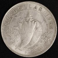 1 $ 1966 Muschel