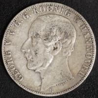 Taler 1859 Georg V.  ss