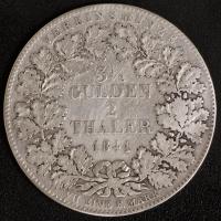 3.5 Gulden / 2 Taler 1841 s-ss