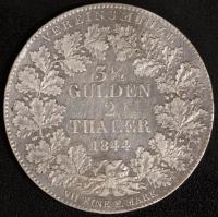 3.5 Gulden / 2 Taler 1844 ss