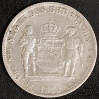 Ausbeutetaler 1870 ss
