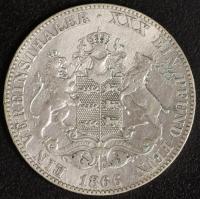 Vereinstaler 1866