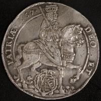 Taler 1657, Johann Georg II.