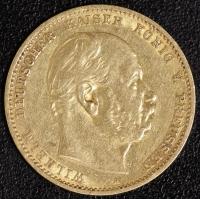 10 Mark Wilhelm I 1880 A