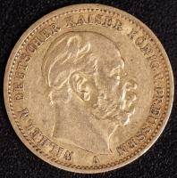 20 Mark Wilhelm I 1876 A