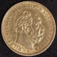 20 Mark Wilhelm I 1875 A