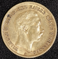 10 Mark Wilhelm II 1907