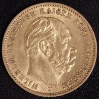 20 Mark Wilhelm I 1872 C ss