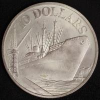 10 $ Singapore 1975