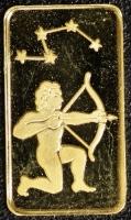 Goldbarren - 1 Gramm Schütze