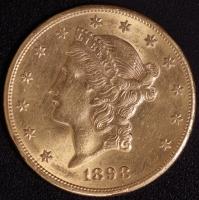 20 $ Liberty 1898-S   ss