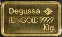 Goldbarren - 10 Gramm