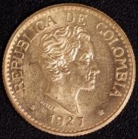 5 Pesos Bolivar 1927