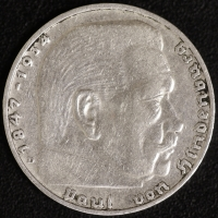 2 Mark Hindenburg 1936 D