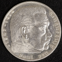 2 Mark Hindenburg 1936 E