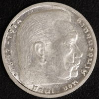 2 Mark Hindenburg 1936 G