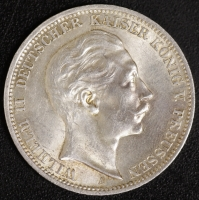 3 Mark Wilhelm II. 1910