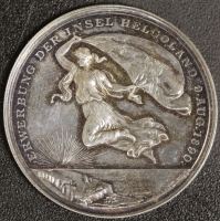 Medaille 1890 Helgoland