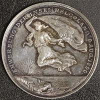 Medaille 1890 Helgoland