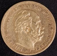20 Mark Wilhelm I 1877 B