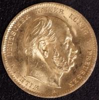 10 Mark Wilhelm I 1872 A