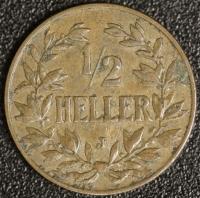1/2 Heller 1905 J DOA