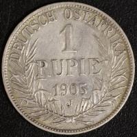 1 Rupie 1905 A DOA