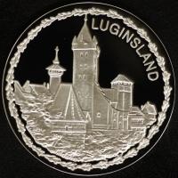 Nürnberger Christkindlesmarktmedaille 2014 Silber