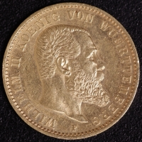 20 Mark Wilhelm II. 1898