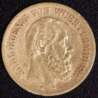 10 Mark Karl 1890 ss