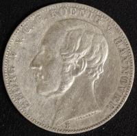 Taler 1866 Georg V.  ss